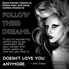 Lady Gaga quote